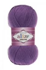 Пряжа для вязания Alize Cotton Gold (Ализе Коттон Голд) Цвет 44 фиолетовый