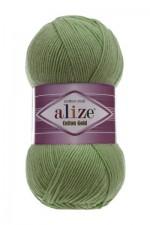 Пряжа для вязания Alize Cotton Gold (Ализе Коттон Голд) Цвет 485 зеленый