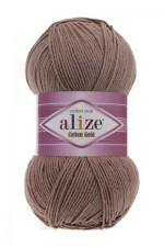 Пряжа для вязания Alize Cotton Gold (Ализе Коттон Голд) Цвет 571 кофе с молоком