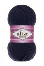 Пряжа для вязания Alize Cotton Gold (Ализе Коттон Голд) Цвет 58 темно синий