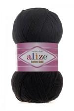 Пряжа для вязания Alize Cotton Gold (Ализе Коттон Голд) Цвет 60 черный