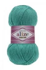 Пряжа для вязания Alize Cotton Gold (Ализе Коттон Голд) Цвет 610 изумруд