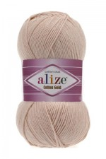 Пряжа для вязания Alize Cotton Gold (Ализе Коттон Голд) Цвет 67 светло бежевый