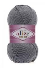 Пряжа для вязания Alize Cotton Gold (Ализе Коттон Голд) Цвет 87 серый