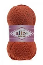 Пряжа для вязания Alize Cotton Gold (Ализе Коттон Голд) Цвет 89 терракот
