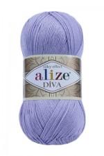 Пряжа для вязания Alize Diva (Ализе Дива) Цвет 158 лиловый