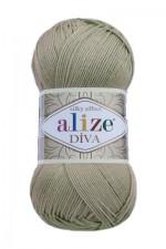 Пряжа для вязания Alize Diva (Ализе Дива) Цвет 167 бежевый