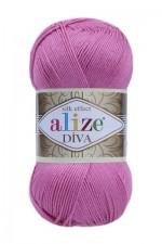 Пряжа для вязания Alize Diva (Ализе Дива) Цвет 178 ярко розовый