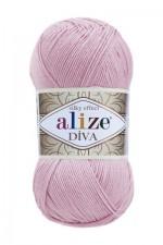 Пряжа для вязания Alize Diva (Ализе Дива) Цвет 27 светлая сирень