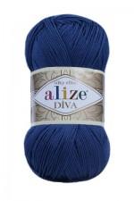 Пряжа для вязания Alize Diva (Ализе Дива) Цвет 279 джинсовый