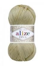 Пряжа для вязания Alize Diva (Ализе Дива) Цвет 368 светло бежевый