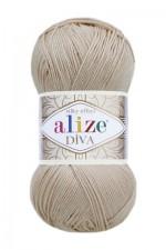 Пряжа для вязания Alize Diva (Ализе Дива) Цвет 382 пудра