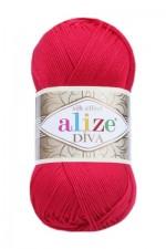 Пряжа для вязания Alize Diva (Ализе Дива) Цвет 396 мак