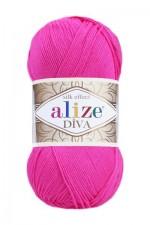 Пряжа для вязания Alize Diva (Ализе Дива) Цвет 561 светлая фуксия