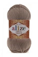 Пряжа для вязания Alize Diva Stretch (Ализе Дива Стрейч) Цвет 167 бежевый