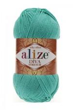 Пряжа для вязания Alize Diva Stretch (Ализе Дива Стрейч) Цвет 610 изумруд