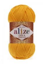 Пряжа для вязания Alize Diva Stretch (Ализе Дива Стрейч) Цвет 83 тыква