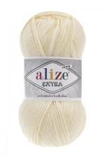 Пряжа для вязания Alize Extra (Ализе Экстра) Цвет 01 молочный