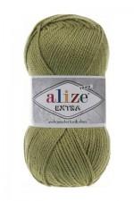 Пряжа для вязания Alize Extra (Ализе Экстра) Цвет 100 оливковый