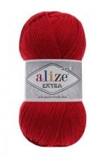 Пряжа для вязания Alize Extra (Ализе Экстра) Цвет 106 темно красный