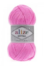 Пряжа для вязания Alize Extra (Ализе Экстра) Цвет 157 темно розовый