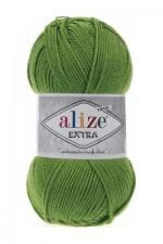 Пряжа для вязания Alize Extra (Ализе Экстра) Цвет 210 зеленый