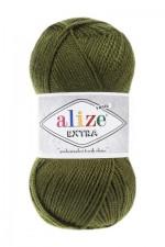 Пряжа для вязания Alize Extra (Ализе Экстра) Цвет 214 оливковый