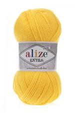 Пряжа для вязания Alize Extra (Ализе Экстра) Цвет 216 желтый