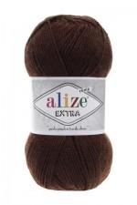 Пряжа для вязания Alize Extra (Ализе Экстра) Цвет 26 коричневый