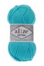 Пряжа для вязания Alize Extra (Ализе Экстра) Цвет 287 светлая бирюза