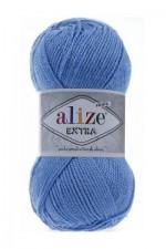 Пряжа для вязания Alize Extra (Ализе Экстра) Цвет 289 голубой