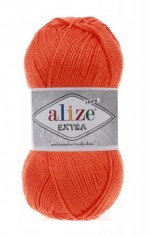 Пряжа для вязания Alize Extra (Ализе Экстра) Цвет 407 гранатовый