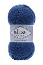Пряжа для вязания Alize Extra (Ализе Экстра) Цвет 409 джинсовый