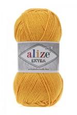Пряжа для вязания Alize Extra (Ализе Экстра) Цвет 488 темно желтый