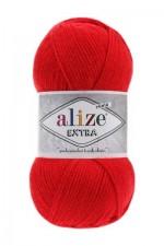 Пряжа для вязания Alize Extra (Ализе Экстра) Цвет 56 красный