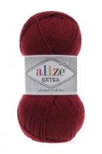 Пряжа для вязания Alize Extra (Ализе Экстра) Цвет 57 бордовый