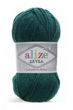 Пряжа для вязания Alize Extra (Ализе Экстра) Цвет 598 темно зеленый