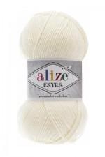 Пряжа для вязания Alize Extra (Ализе Экстра) Цвет 62 кремовый