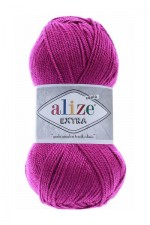 Пряжа для вязания Alize Extra (Ализе Экстра) Цвет 621 темная фуксия