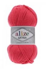 Пряжа для вязания Alize Extra (Ализе Экстра) Цвет 661 коралловый