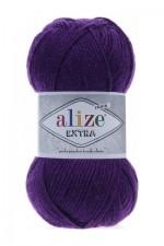 Пряжа для вязания Alize Extra (Ализе Экстра) Цвет 74 темно фиолетовый