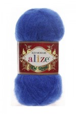 Пряжа для вязания Alize Kid Royal (Ализе Кид Роял) Цвет 141 василек