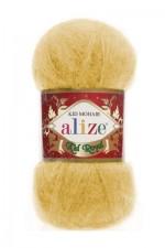 Пряжа для вязания Alize Kid Royal (Ализе Кид Роял) Цвет 216 желтый