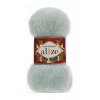 Пряжа для вязания Alize Kid Royal (Ализе Кид Роял) Цвет 224 зимнее небо