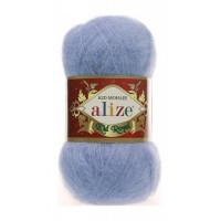 Пряжа для вязания Alize Kid Royal (Ализе Кид Роял) Цвет 40 голубой
