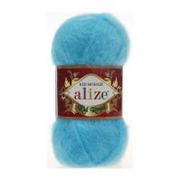Пряжа для вязания Alize Kid Royal (Ализе Кид Роял) Цвет 443 бирюзовый