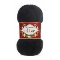 Пряжа для вязания Alize Kid Royal (Ализе Кид Роял) Цвет 60 черный