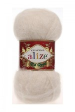Пряжа для вязания Alize Kid Royal (Ализе Кид Роял) Цвет 67 молочно бежевый