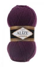 Пряжа Alize Lanagold (Ализе Лана Голд) Цвет 111 фиолетовый