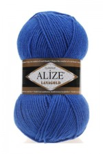 Пряжа Alize Lanagold (Ализе Лана Голд) Цвет 141 василек